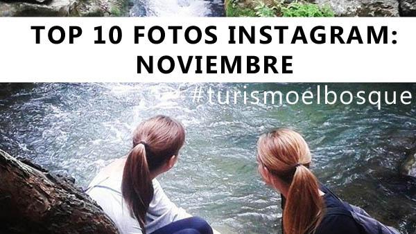 TOP 10: fotos de Instagram en Noviembre