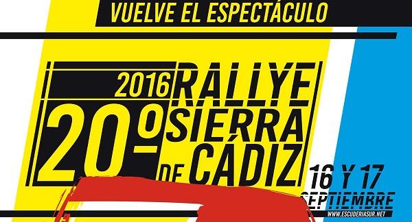 XX Rally Sierra de Cádiz 2016