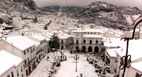 Nieve en Grazalema 2017
