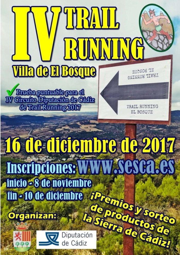 Trail Running El Bosque 2017