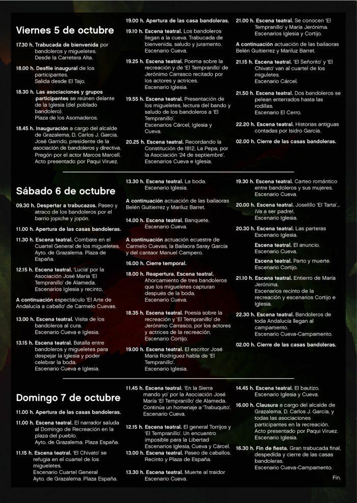 bandoleros-grazalema-2018-programa-