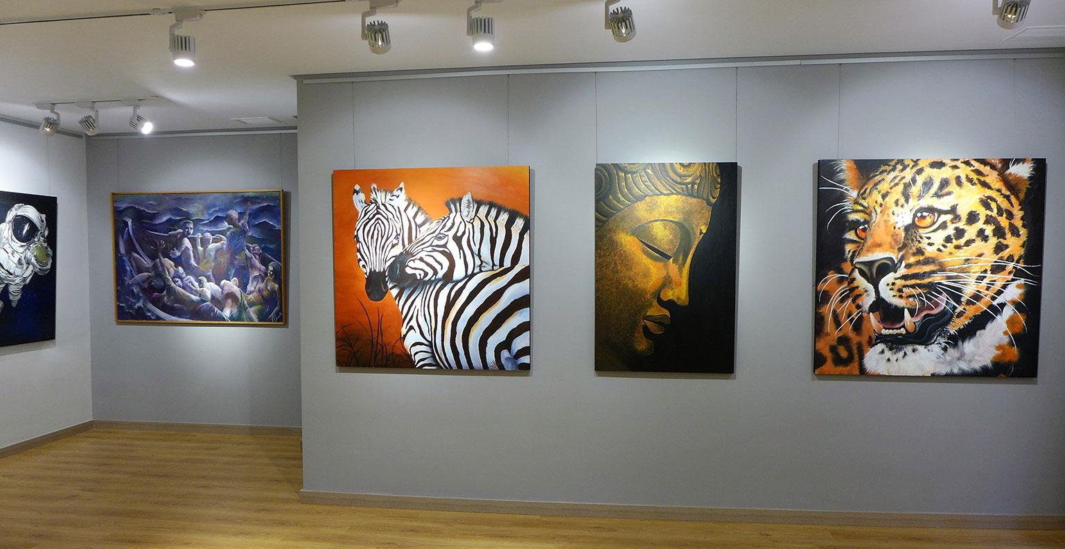 Sala Exposiciones Ubrique en la Fundación López Mariscal